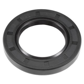 Oil Seal, TC 38mm x 62mm x 8mm, Nitrile Rubber Cover Double Lip - 38mmx62mmx8mm