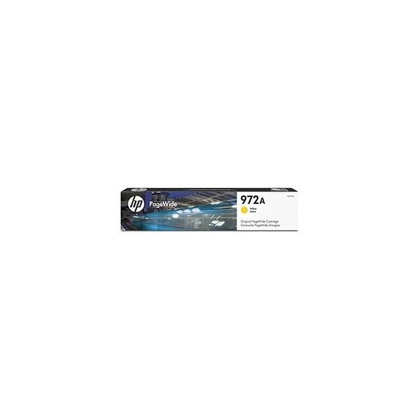 HP 972A High Yield Yellow Original PageWide Cartridge (L0R92AN)(Single Pack)