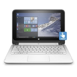 "HP 11-P122NR 11.6"" Touch Laptop Intel Celeron N2840 2.16GHz 2GB 32GB W10H"