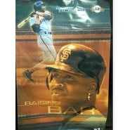 Signed Bonds Barry San Francisco Giants 22 12x34 12 Poster Light Kinks and bends in poster autograp