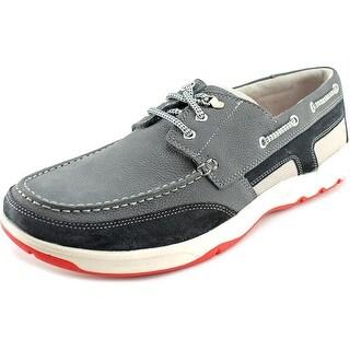 Rockport Cshorebound 3eye Moc Toe Leather Boat Shoe
