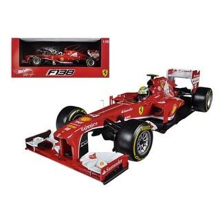 Ferrari F2013 F138 Felipe Massa Formula 1 2013 F1 1/18 Diecast Car Model by Hotwheels