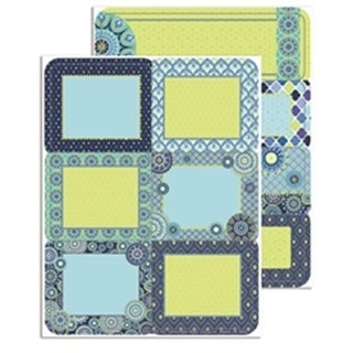 Eureka EU-656154 Blue Harmony Labels