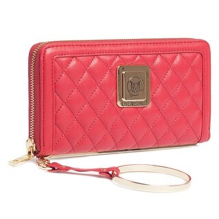 Moschino JC5504 0500 Red Zip Around Wallet