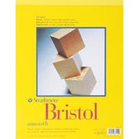 """20 Sheets - Strathmore Bristol Smooth Paper Pad 11""""X14"""""""