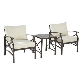 Link to Luxi 3-piece set Lounge Chairs with End Table Similar Items in Outdoor Loveseat