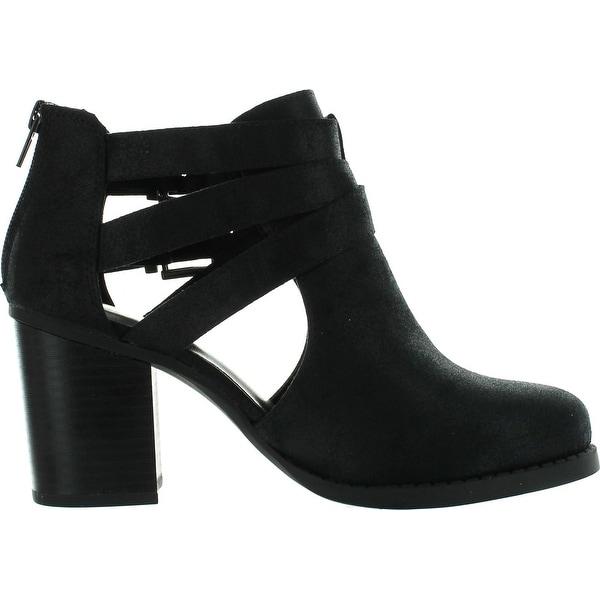 heel out booties
