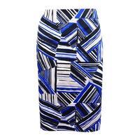 Kasper Women's Abstract-Print Pencil Skirt