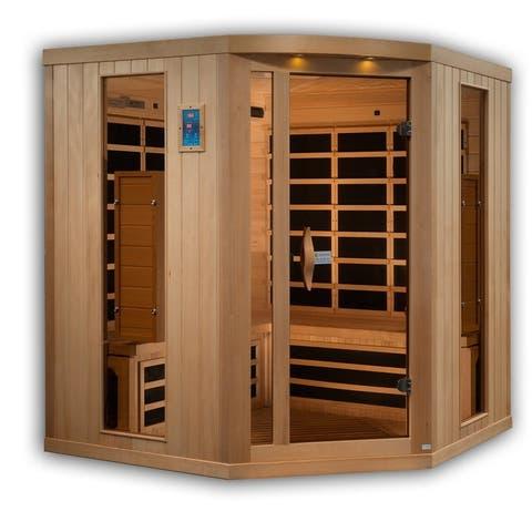 5 Person Corner Reserve Edition Near Zero EMF Infrared Sauna GDI-8065-01