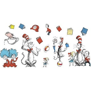 Eureka The Cat in the Hat Bulletin Board Set, 15 Pieces