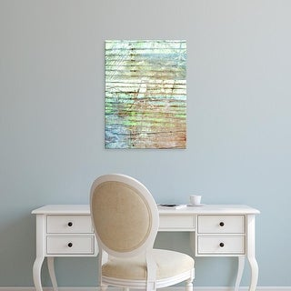 Easy Art Prints Danielle Harrington's 'Beach Reflections I' Premium Canvas Art