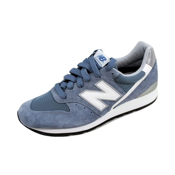 New Balance Men's 996 Age Of Exploration Blue/Blue Bell-Silver M996CHG