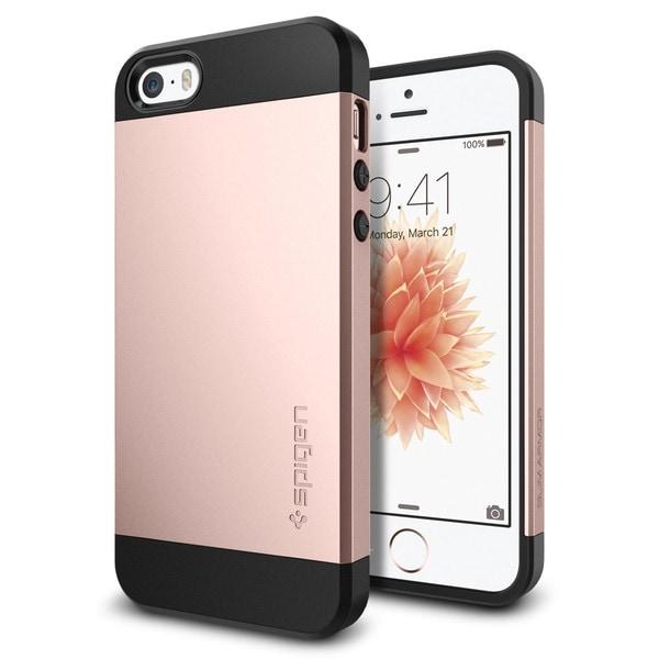 SPIGEN Slim Armor Case for Apple iPhone SE - Rose Gold