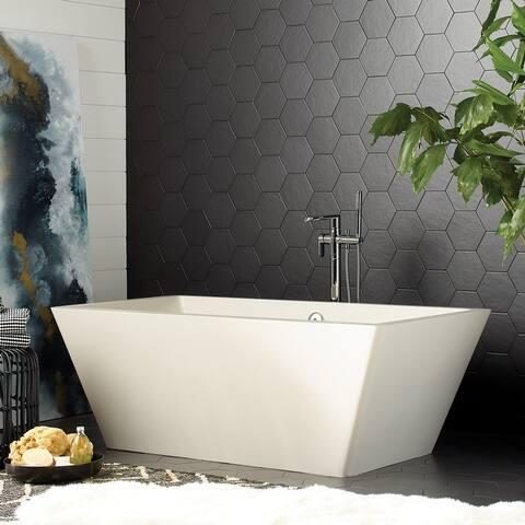 Mendocino NativeStone Freestanding Soaking Tub