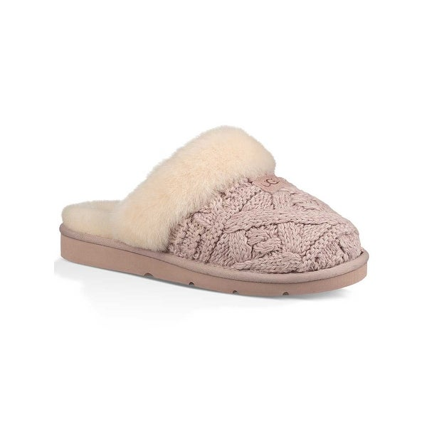 c0c7ab83ec57 Shop UGG Women s Cozy Cable Slipper - 12 - Free Shipping Today ...
