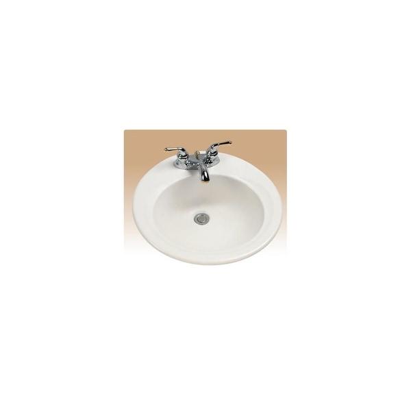 "19-1//2/"" White Ceramic Porcelain Round Shape Bathroom Vanity Undermount Sink"