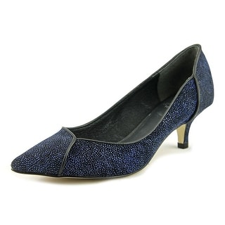 Adrianna Papell Lydia Women  Pointed Toe Leather Blue Heels