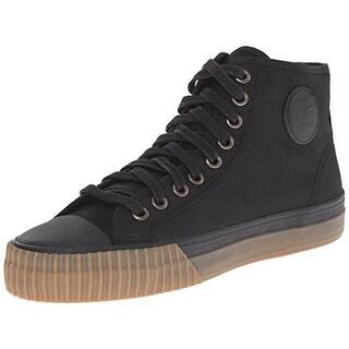 PF Flyers Mens Center Hi Woven Signature Fashion Sneakers - 8.5 medium (d)