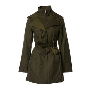 INC International Concepts Belted Trench Coat