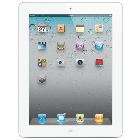 "Apple Ipad 3 with Wi-Fi 9.7"" - 32GB - Black - White (Refurbished)"