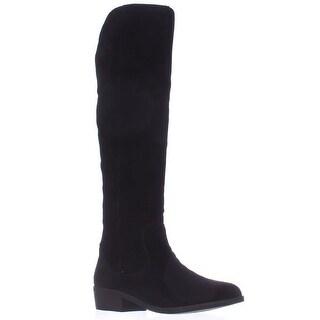STEVEN by Steve Madden Emmery Tall Western Boots - Black