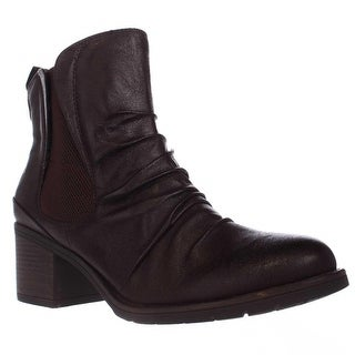 BareTraps Drennan Slouch Casual Ankle Booties, Dark Brown