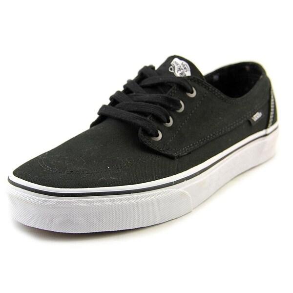 Vans Brigata Men Round Toe Synthetic Black Sneakers