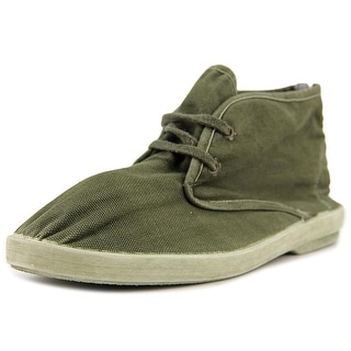 Pergamo 0PS26 Round Toe Canvas Chukka Boot