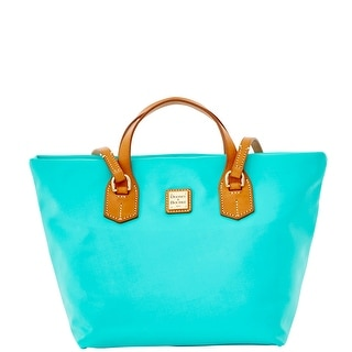 Dooney & Bourke Windham Leighton Tote (Introduced by Dooney & Bourke at $198 in Jan 2016) - Aqua