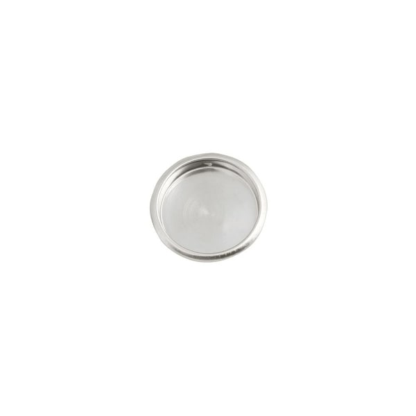 Design House 202788 Door Hardware Closet Finger Pull   Satin Nickel