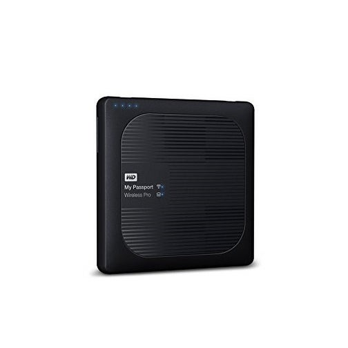Western Wdbsmt0030bbk-Nesn 3Tb My Passport Wireless Pro External Hard Drive