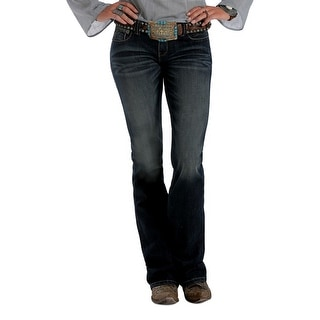 Cruel Girl Western Denim Jeans Womens Blake Slim Denim Dk CB44554071