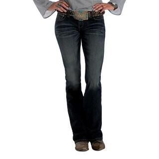 Cruel Girl Western Denim Jeans Womens Blake Slim Denim Dk CB44554071