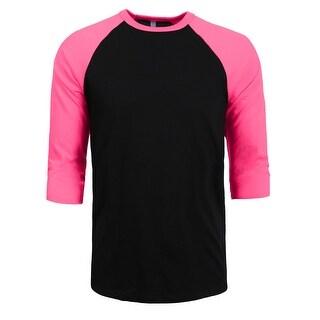 NE PEOPLE Kids Premium 3/4 Sleeves Raglan Youth Slim fit Unisex Top