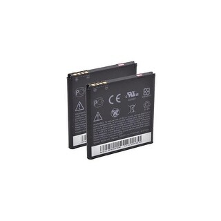 Battery for HTC 35H0016400M (2-Pack) Replacement Battery