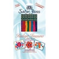 DMC Satin Floss Collection Pack 8.7yd 8/Pkg-Radiant Treasures