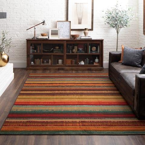 Mohawk Home Avenue Stripe Indoor/Outdoor Area Rug