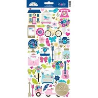 Hello Icons - Doodlebug Cardstock Stickers