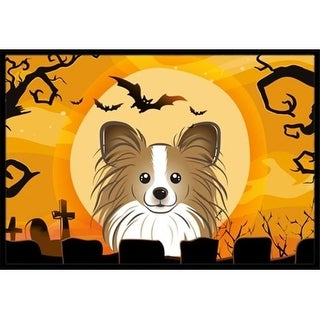 Carolines Treasures BB1806JMAT Halloween Papillon Indoor & Outdoor Mat 24 x 36 in.