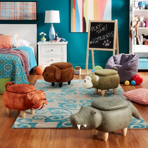 iQ Friends - Animal Storage Ottomans by iNSPIRE Q Junior