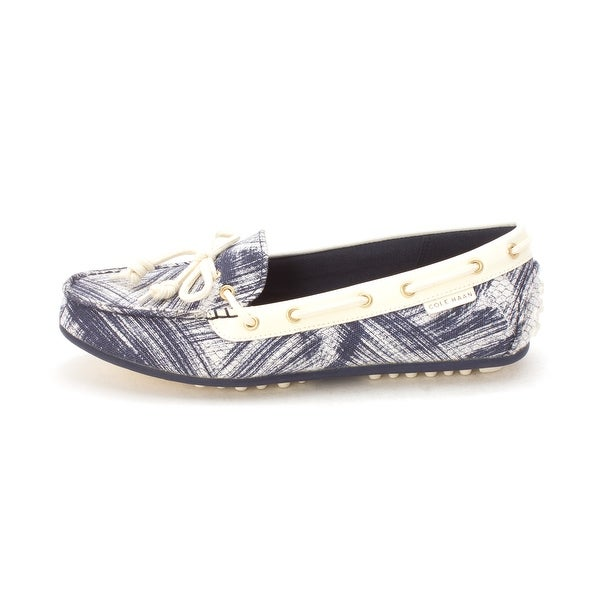 Cole Haan Womens Charminesam Closed Toe Boat Shoes - 6