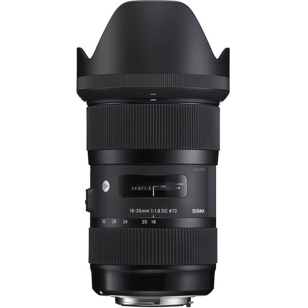 Sigma 18-35mm f/1.8 DC HSM Lens for Canon - Black
