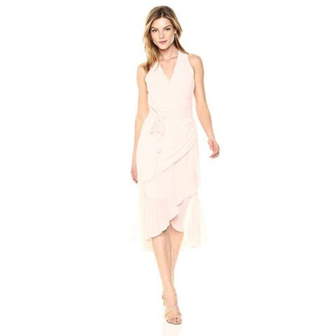 bebe Womens Dress with V Neck