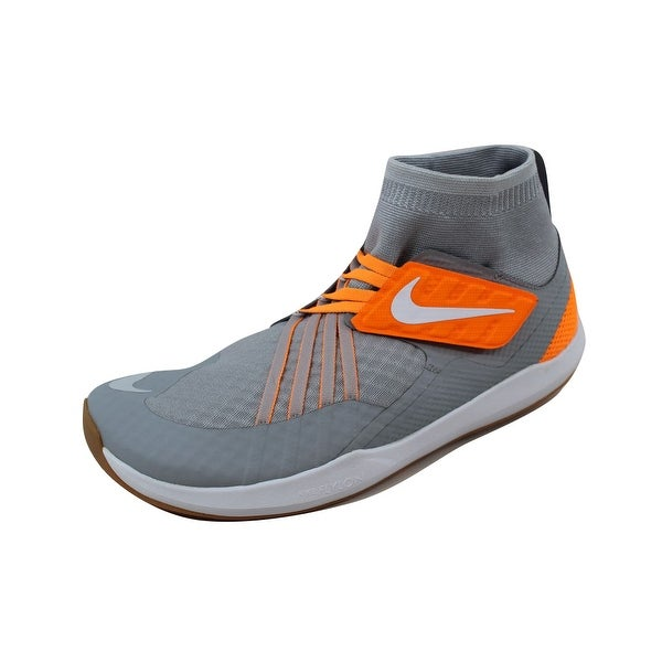 Nike Men's Flylon Train Dynamic Wolf Grey/White-Pure Platinum 852926-003