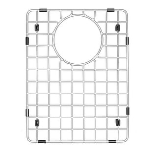 "Karran Stainless Steel Bottom Grid fits QT-610 and QU-610 - 10-1/4"" x 13-1/4"""