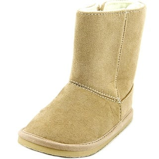Trimfoot Delice Infant Round Toe Synthetic Nude Mid Calf Boot