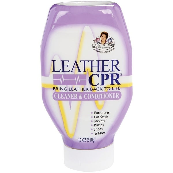 Leather CPR CC-18QC6 Cleaner And Conditioner, 18 Oz