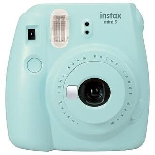 Fujifilm Instax Mini 9 (Ice Blue) w/Macaron Film & Accessory Bundle