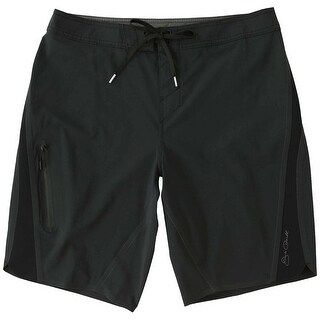 Jack O'Neill Black Mens Size 36 Drawstring Board Surf Shorts