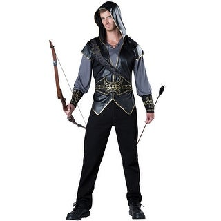 InCharacter Hooded Huntsman Adult Costume - Black